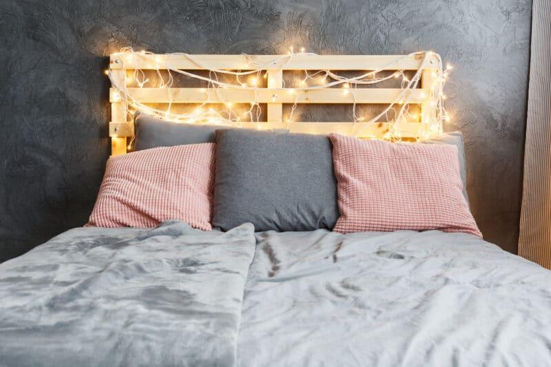 Cadre de lit palette